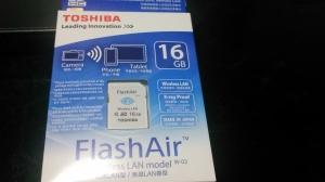 東芝flash Air